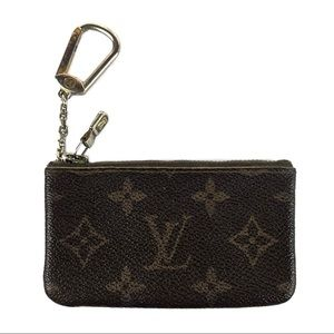 Louis Vuitton Monogram Coin Pouch Wallet